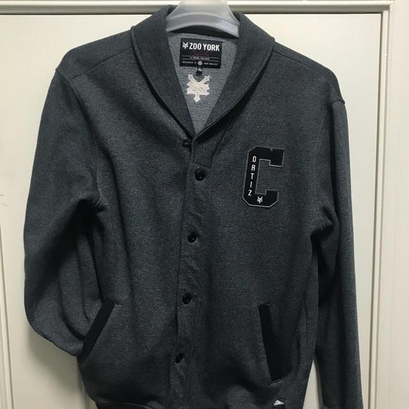 9796143175f Zoo York cardigan men s sweater. M 5b6796ac0e3b869046917bed
